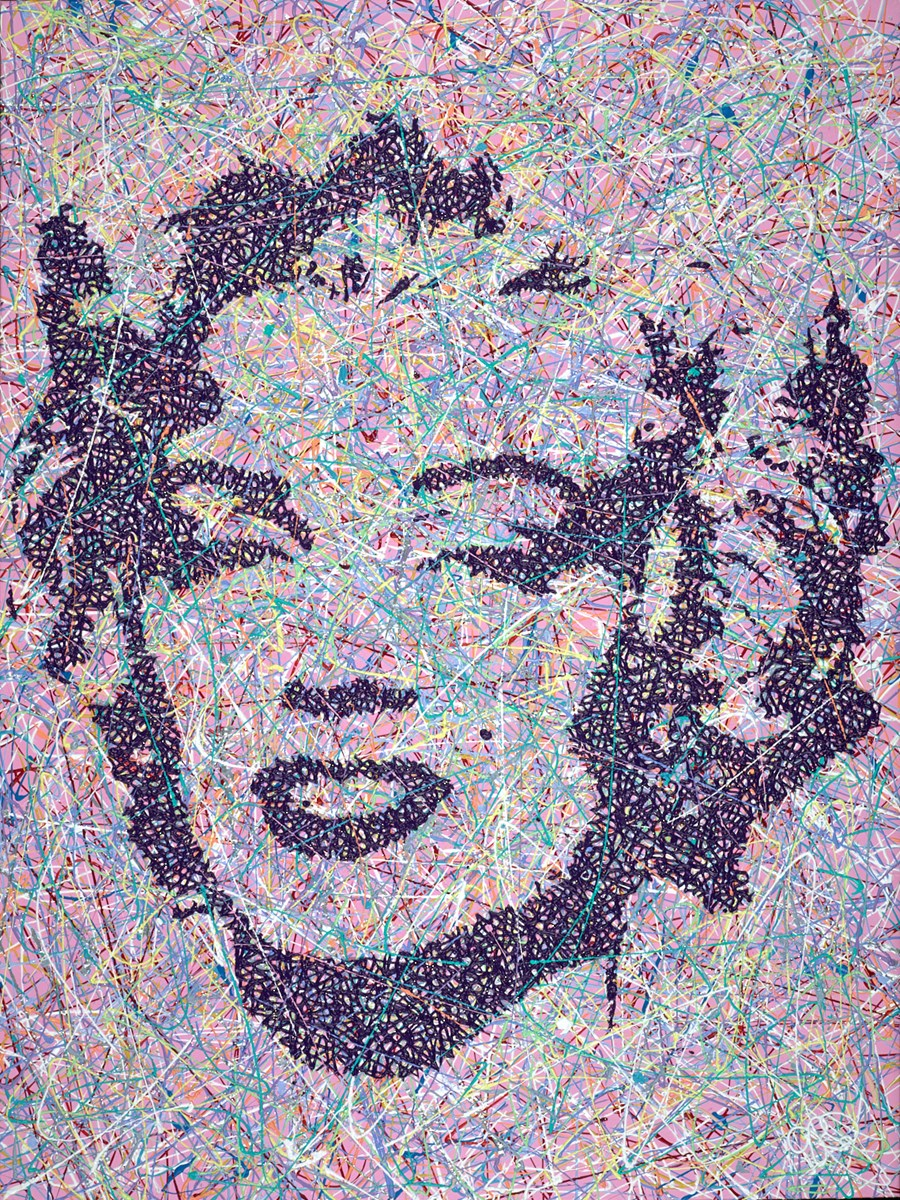 Monroe IV by jim dowie -  sized 30x40 inches. Available from Whitewall Galleries